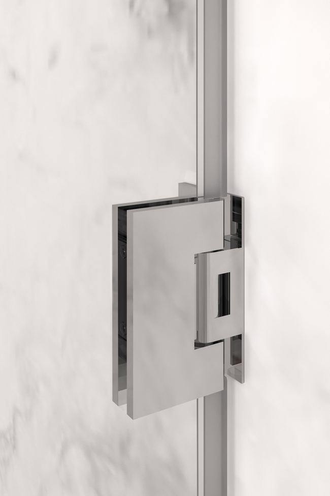 Door hinge (wall mounted)