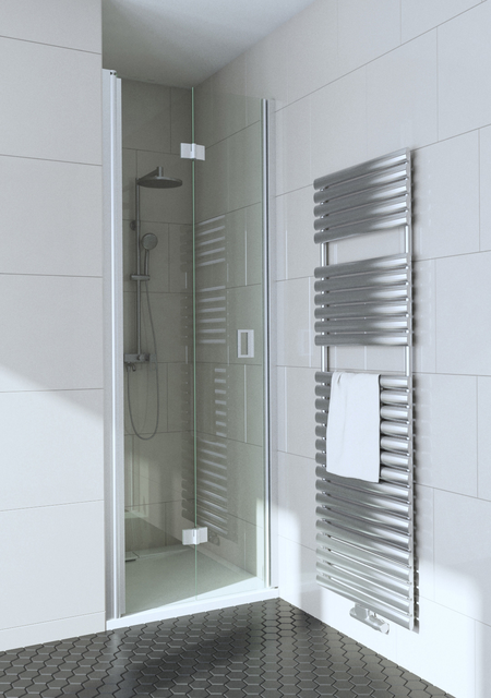 Folding shower door with magnet locking Fenic 336 (313+319)
