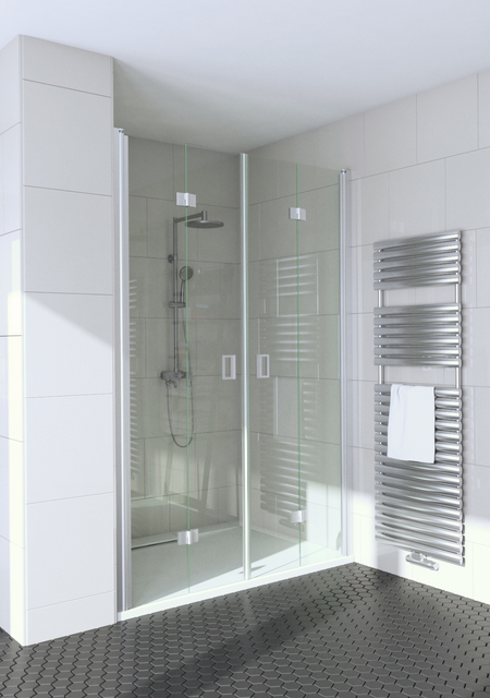 Alcove fitting with folding double doors Fenic 347 (313+313)