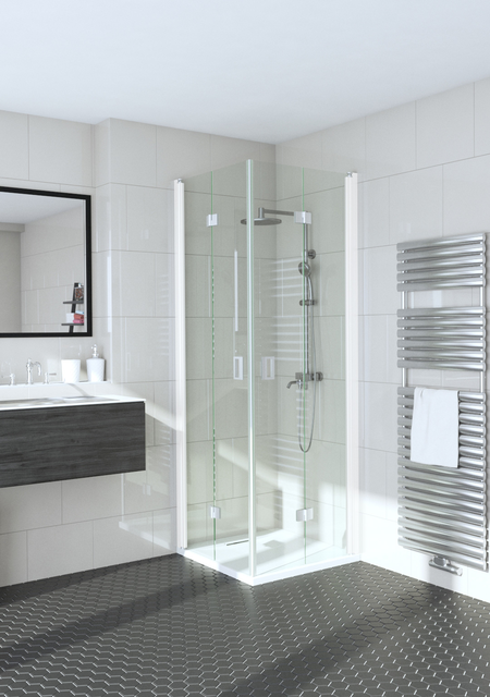 Shower enclosure with folding doors Fenic 361 (313x313)