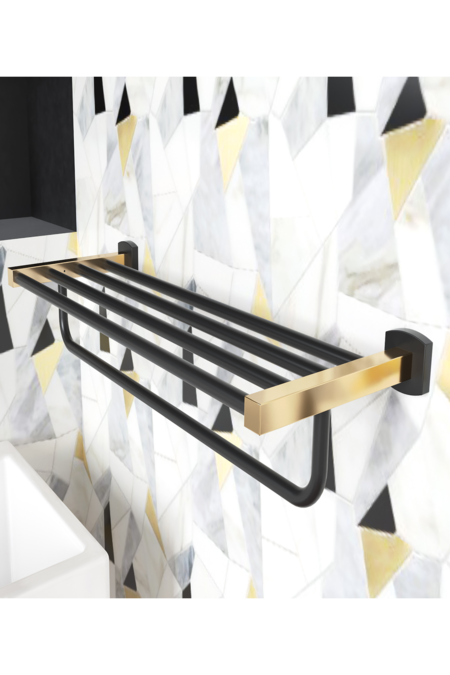 Mélange Towel Shelf