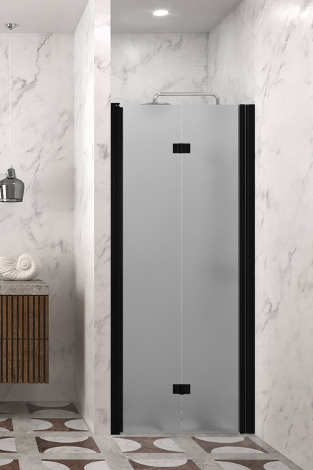 Folding shower door with magnet locking Infinia 234 (213+219)